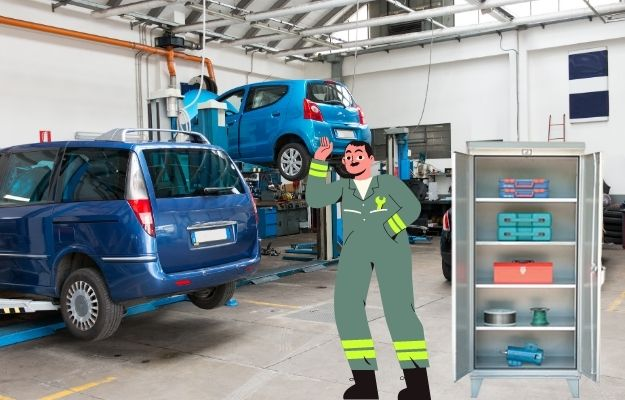 Garage or Outdoor Storage Cabinets